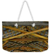 Inside A Covered Bridge 3 Weekender Tote Bag