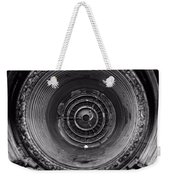 Inside A Jet Engine Black And White Weekender Tote Bag