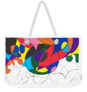 Inside And Outside The Circle Weekender Tote Bag