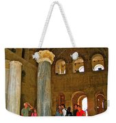 Inside Church Of Saint Nicholas In Myra-turkey Weekender Tote Bag