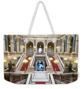 Inside Of National Museum In Prague Weekender Tote Bag