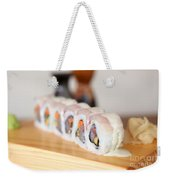 Inside Out Tuna Sushi Weekender Tote Bag