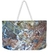 Inside Painted Cave In Lava Beds National Monument-california Weekender Tote Bag