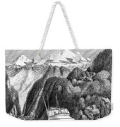 Cruising The Inside Passage Weekender Tote Bag