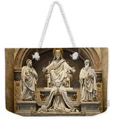 Inside St Peters Basiclica - Vatican Rome Weekender Tote Bag