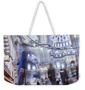 Inside The Blue Mosque Weekender Tote Bag