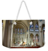 Inside The Cathedral Basilica Of The Immaculate Conception 1 Weekender Tote Bag