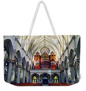 Inside The Cathedral  Weekender Tote Bag