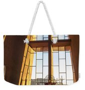 Inside The Chapel Of The Holy Cross Weekender Tote Bag