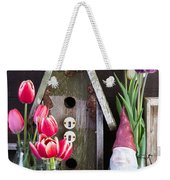 Inside The Garden Shed Weekender Tote Bag by Edward Fielding
