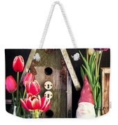 Inside The Potting Shed Weekender Tote Bag by Edward Fielding