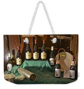 Inside The Wine Cellar Weekender Tote Bag by Allen Sheffield