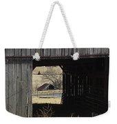 Barn - Kentucky - Inside Treasure Weekender Tote Bag