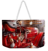 Inspiration - Truck - Waiting For A Call Weekender Tote Bag by Mike Savad