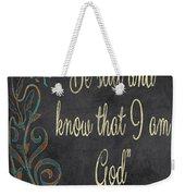 Inspirational Chalkboard-b Weekender Tote Bag