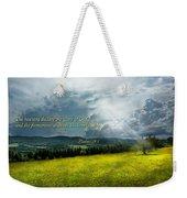 Inspirational - Eternal Hope - Psalms 19-1 Weekender Tote Bag