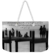 Inspirational  Photography Weekender Tote Bag
