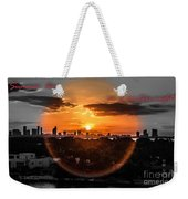Inspirational--summer Day On A Winters Night Weekender Tote Bag