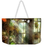 Inspirational - The Door To Paradise - Peter 1-11 Weekender Tote Bag by Mike Savad