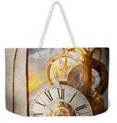 Inspirational - Time - A Look Back In Time - Da Vinci Weekender Tote Bag