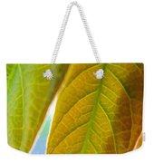 Interesting Leaves - Digital Painting Effect Weekender Tote Bag