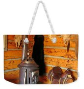 Interior Cabin At Old Trail Town Weekender Tote Bag