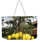 Interior Decorations Butterfly Gardens Vegas Golden Yellow Tulip Flowers Weekender Tote Bag