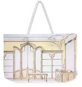 Interior Design For A Fashion Shop Weekender Tote Bag