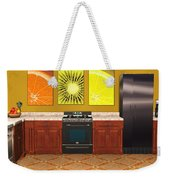 Interior Design Idea - Sweet Orange - Kiwi - Lemon Weekender Tote Bag