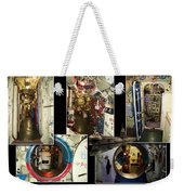 Interior Hatches Collage Russian Submarine Weekender Tote Bag