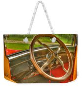 Interior Of A 1926 Model T Ford Weekender Tote Bag