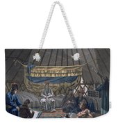 Interior Of A Kalmuk Yurt, 1812-13 Weekender Tote Bag