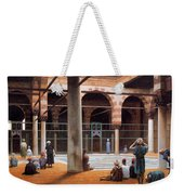 Interior Of A Mosque Weekender Tote Bag