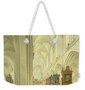 Interior Of Antwerp Cathedral, C.1668 Weekender Tote Bag
