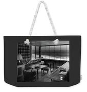 Interior Of Beach House Owned By Anatole Litvak Weekender Tote Bag