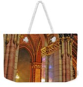 Interior Of Hungarian Parliament Weekender Tote Bag