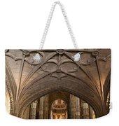 Interior Of Jeronimos Monastery Church In Lisbon Weekender Tote Bag