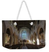 Interior Of St Mary's Church In Rye Weekender Tote Bag