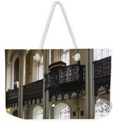Interior Of The Chapel Royal - Dublin Castle Weekender Tote Bag