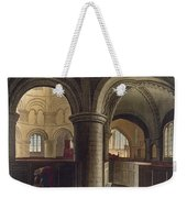 Interior Of The Church Of The Holy Weekender Tote Bag