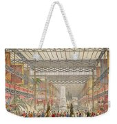 Interior Of The Crystal Palace, Pub Weekender Tote Bag