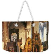 Interior Of The Dominican Church In Krakow Weekender Tote Bag