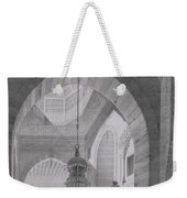 Interior Of The Mosque Of Kaid-bey Weekender Tote Bag
