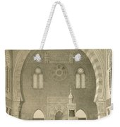 Interior Of The Mosque Of Qaitbay, Cairo Weekender Tote Bag