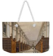 Interior Of Trinity College Library Weekender Tote Bag