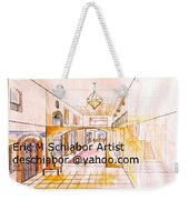 Interior Perspective Weekender Tote Bag