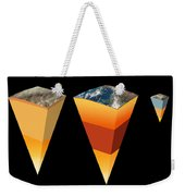 Interior Structure Of Planets And Moon Weekender Tote Bag