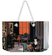 Interior - The Orange Blind, C.1928 Weekender Tote Bag
