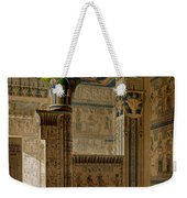 Interior View Of The West Temple Weekender Tote Bag by Le Pere