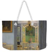 Interior With Afternoon Sun Weekender Tote Bag